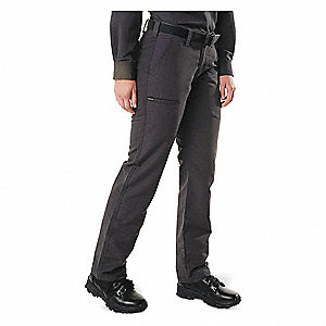 "Women's Fast-Tac Urban Pants. Size: 4, Fits Waist Size: 4, Inseam: 31-3/4"", Charcoal"