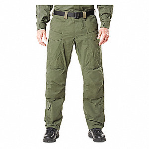 "XPRT Tactical Pants. Size: 42"", Fits Waist Size: 42"", Inseam: 32"", TDU Green"
