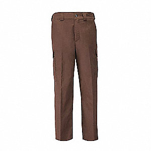 "PDU B-CL Twill Pants. Size: 36"", Fits Waist Size: 36"", Inseam: Unhemmed, Brown"