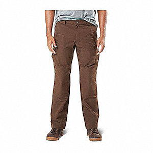 "Stryke Flex-Tac Pants. Size: 54"", Fits Waist Size: 54"", Inseam: Unhemmed, Burnt"