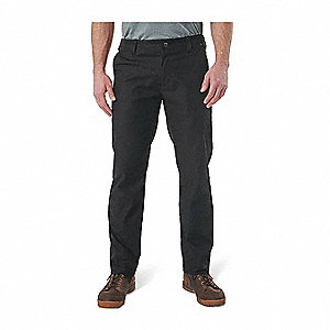 "Edge Chino Pants. Size: 33"", Fits Waist Size: 33"", Inseam: 30"", Black"