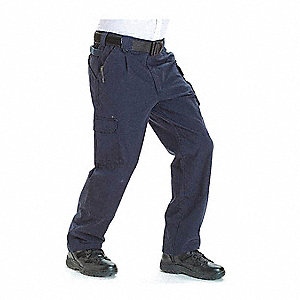 "Tactical Pants. Size: 52"", Fits Waist Size: 52"", Inseam: Unhemmed, Fire Navy"
