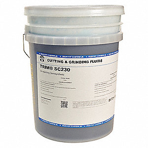 Liquid Cutting and Grinding Fluid, Base Oil : Semi-Synthetic, 5 gal. Pail