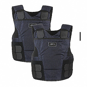 Ballistic Vest Package, NIJ 0101.06 Level 3A Ballistics, Medium Regular