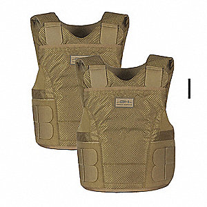 Ballistic Vest Package, NIJ 0101.06 Level 3A Ballistics, Medium X-Long