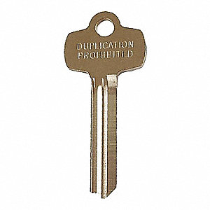 Key Blank,BEST Lock,Standard,D Keyway