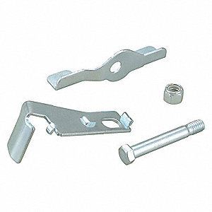 Side Strap Stamped Stainless Steel Caster Brake Kit