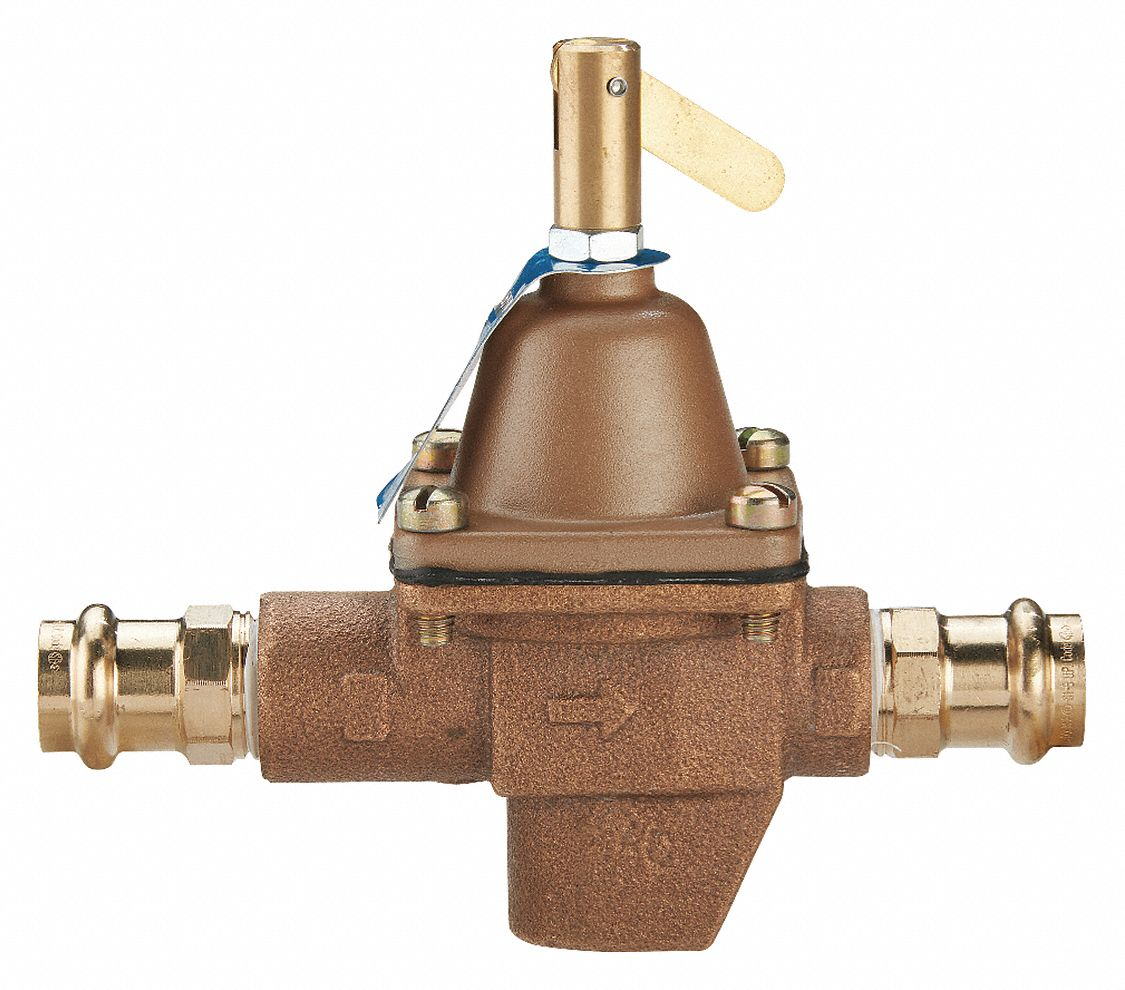 Watts Regulator Feed Water Pressure Regulator High Capacity Valve Type Bronze 1 2 In Pipe Size 429j16 1 2 1156f Press Grainger