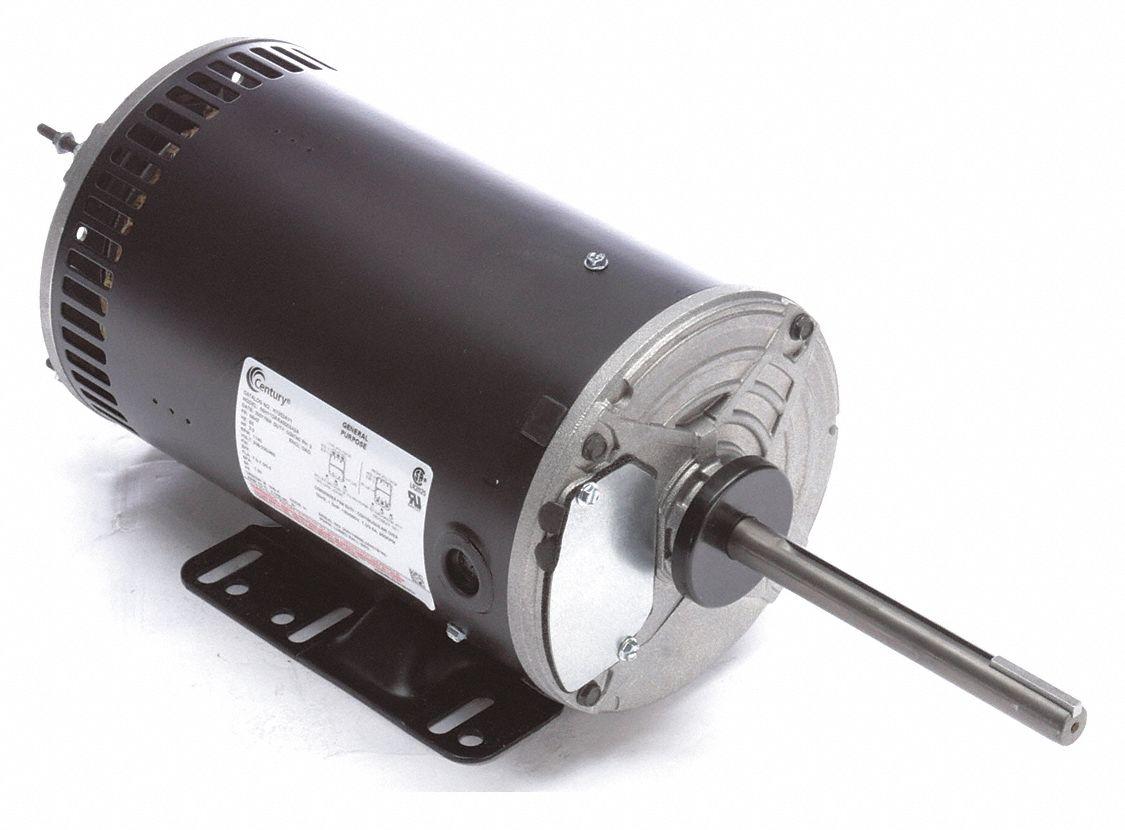Century Condenser Fan Motor 2 Hp 3 Phase Nameplate Rpm 1 140 No Of Speeds 1 429j42 H1052av1 Grainger