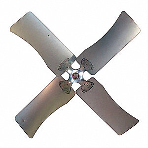 Fan Blade,  Galvanized,  Belt Drive Drive Type,  1 Bore Dia. (In.)