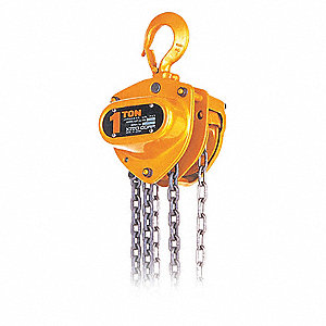HOIST MANUAL STEEL 1T 0FT LIFT