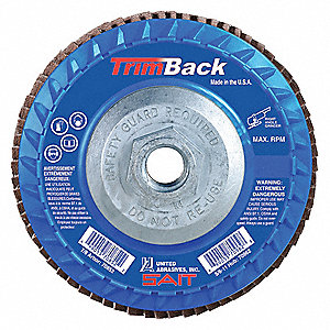 FLAP DISC TRIM T27 5 X5/8-11 36X