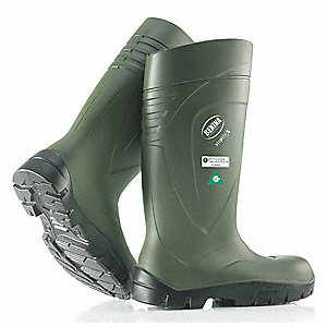 BOOT PU STEPLITE STEEL TOE+PLATE 12