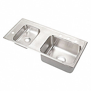 Classroom Sink,  18 ga. Stainless Steel