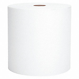 TOWELS HARD ROLL WH 1-PLY 1000/RL