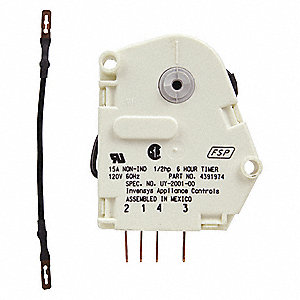 Whirlpool 4391974 Defrost Timer