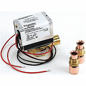 Zone Valve, 2W, N/C, 24V, On/Off, End Switch