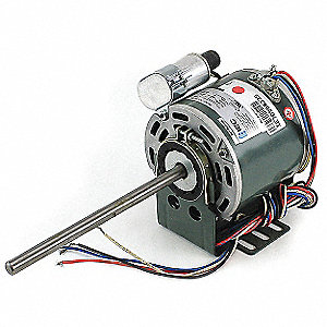 Motor with Capacitor,1/30 HP,277V PSC
