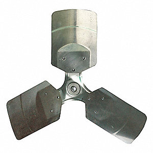 Propeller,  Aluminum,  Direct Drive Type,  0.6 Bore Dia. (In.),  For Use With 1HLB2C, 1HLB3C