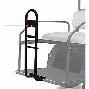 Two Bag Attachment for Golf Cars