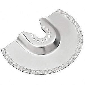 Carbide Grout Removal Blade For Oscillating Tool,  Number of Pieces 1,  Carbide