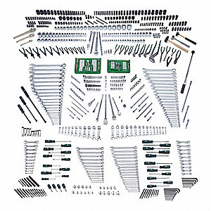 SAE, Metric Master Tool Set, Number of Pieces: 850, Primary Application: Mechanic