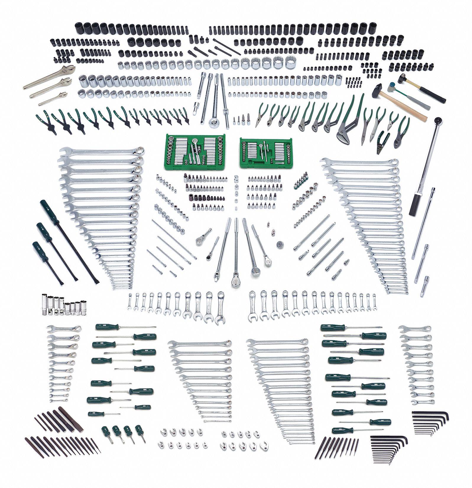 Master Tool Set, Mechanic, 850 Pc