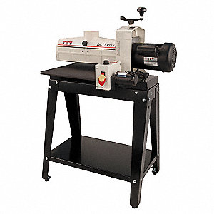 Open Stand Drum Sander,1-1/2 HP,115 V