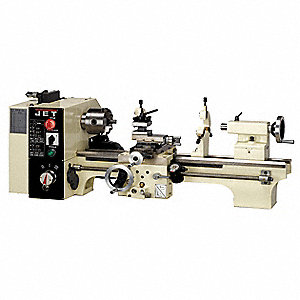 Bench Lathe,3/4HP,1P,20 Center In