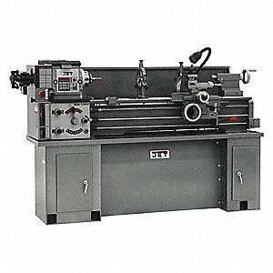 "Bench Lathe,  230 Voltage,  2 Motor HP,  29"" Overall Height,  75.5"" Overall Length"
