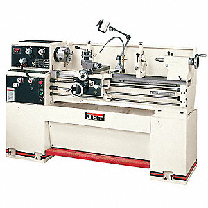 Geared Head Lathe,3HP,1P,40 Center In