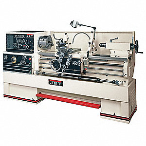 Jet Lathe,10HP,3P,80 Center In