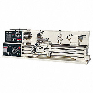 Geared Head Lathe,2HP,1P,40 Center In
