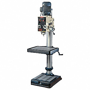 "7-1/2 Motor HP Floor Drill Press, Geared Head Drive Type, 33"" Swing, 240/480 Voltage"