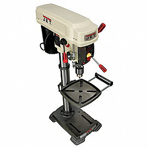 "1/3 Motor HP Bench Drill Press, Belt Drive Type, 12"" Swing, 115 Voltage"