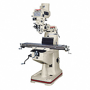 Variable Speed Milling Machine,  28.75 Longitudinal Travel (In.),  12 Cross Travel (In.)