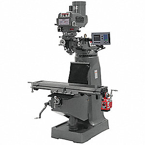Variable Speed Milling Machine,  Variable Speed R8,  9 x 49 Table Size (In.)