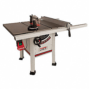 "10"" Contractor Table Saw, 14.0 Amps, Blade Tilt: Left, 5/8"" Arbor Size, 4000 No Load RPM"