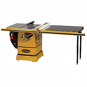 "10"" Cabinet Table Saw, 12.0 Amps, 5/8"" Arbor Size, 4300 No Load RPM"