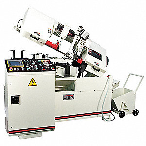 3 HP Horizontal Band Saw, Voltage: 230, Max. Blade Length: 138""