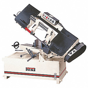 2 HP Horizontal Miter Band Saw, Voltage: 230, Max. Blade Length: 130""