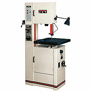 2 HP Vertical Band Saw, Voltage: 230/460, Max. Blade Length: 123-1/2""