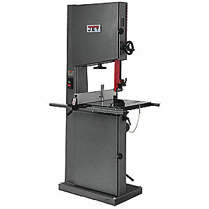 1-1/2 HP Vertical Band Saw, Voltage: 115/230, Max. Blade Length: 137""