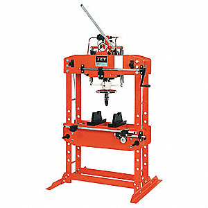 Hydraulic Press,35 t,Manual Pump