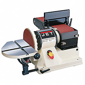 Belt/Disc Sander,3/4 HP,6x48 Belt