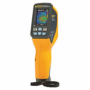 Infrared Thermometer, 14° to 482°F Temp. Range (F), Includes: Hard Case,Micro SD Card,Adapter,(4) AA