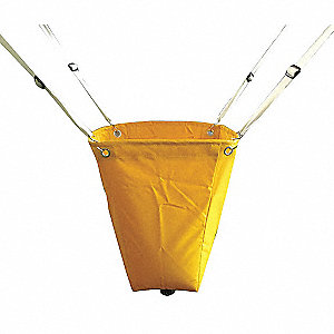 Roof Leak Diverter,18x18 In.,Yellow