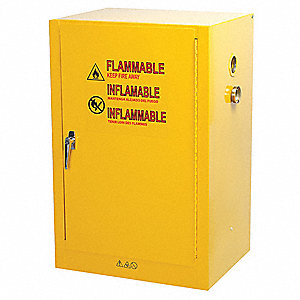 flammable safety cabinet12 galyellow