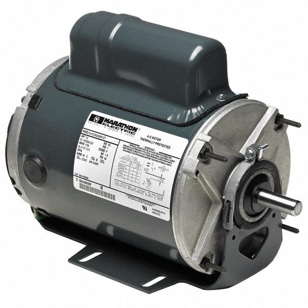 Marathon motors 1 6 hp poultry fan motor split phase 1140 for Marathon electric motor replacement parts