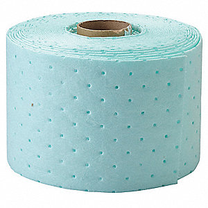 200 ft. Absorbent Roll, Fluids Absorbed: Universal, Medium, 27 gal., 2 PK